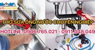 thợ sửa ống nước Hưng Thịnh