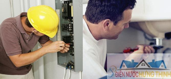 thợ điện nước