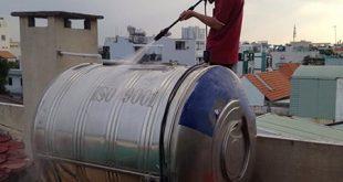 Vệ sinh bồn nước giá rẻ tại TPHCM