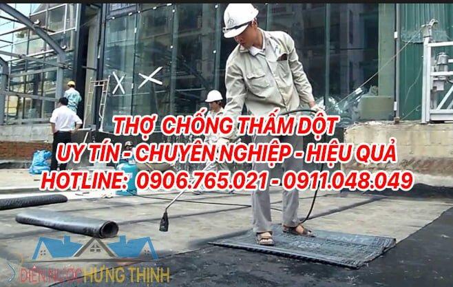 thợ chống thấm Hưng Thịnh
