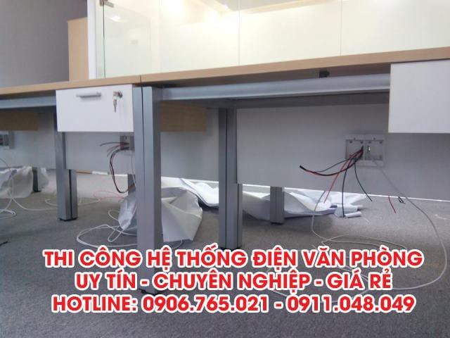 thi công hệ thống điện văn phòng