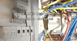 Dịch vụ sửa chữa điện nước tại quận 6 HCM